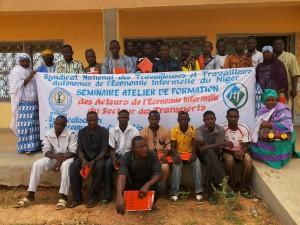 Workshop participants in Maradi